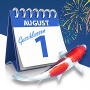Öffnungszeiten am 1. August