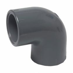 PVC-U Winkel 50mm  90 Grad  DIN 8063, PN16