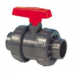 PVC-U Kugelhahn 20mm DIN 8063, PN16