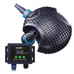 KOBRE®TEC FLOW CONTROL Pumpe 20000, G-Serie 24-185 Watt, Pilzgehäuse, für in den Teich (gep.)
