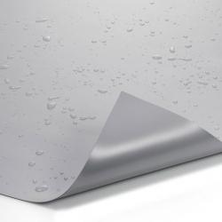 PVC Teichfolie Grau, 1.00 mm- Breite 8 Meter