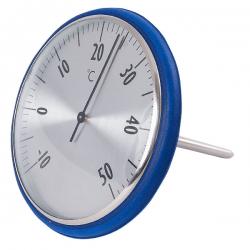Thermometer schwimmend gross blau bequemes ablesen der Temperatur