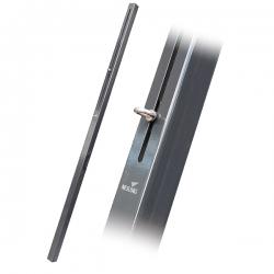 Sonnensegel Stahl Pfosten 7x7x250cm mit verschiebbarer Öse