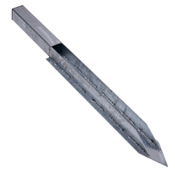 Sonnensegel Bodenhülse für Stahlpfosten