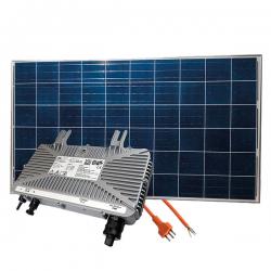 Solar Einspeiseanlage 500 Watt (2x Solarpanels 250 Watt 1x Wechselrichter)