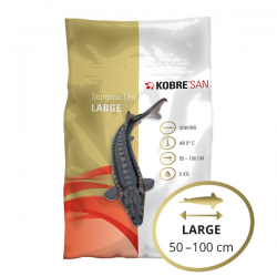 Kobre®San Sturgeon Line, Large, 6 mm, 5 kg All Season / Winter, sinkend